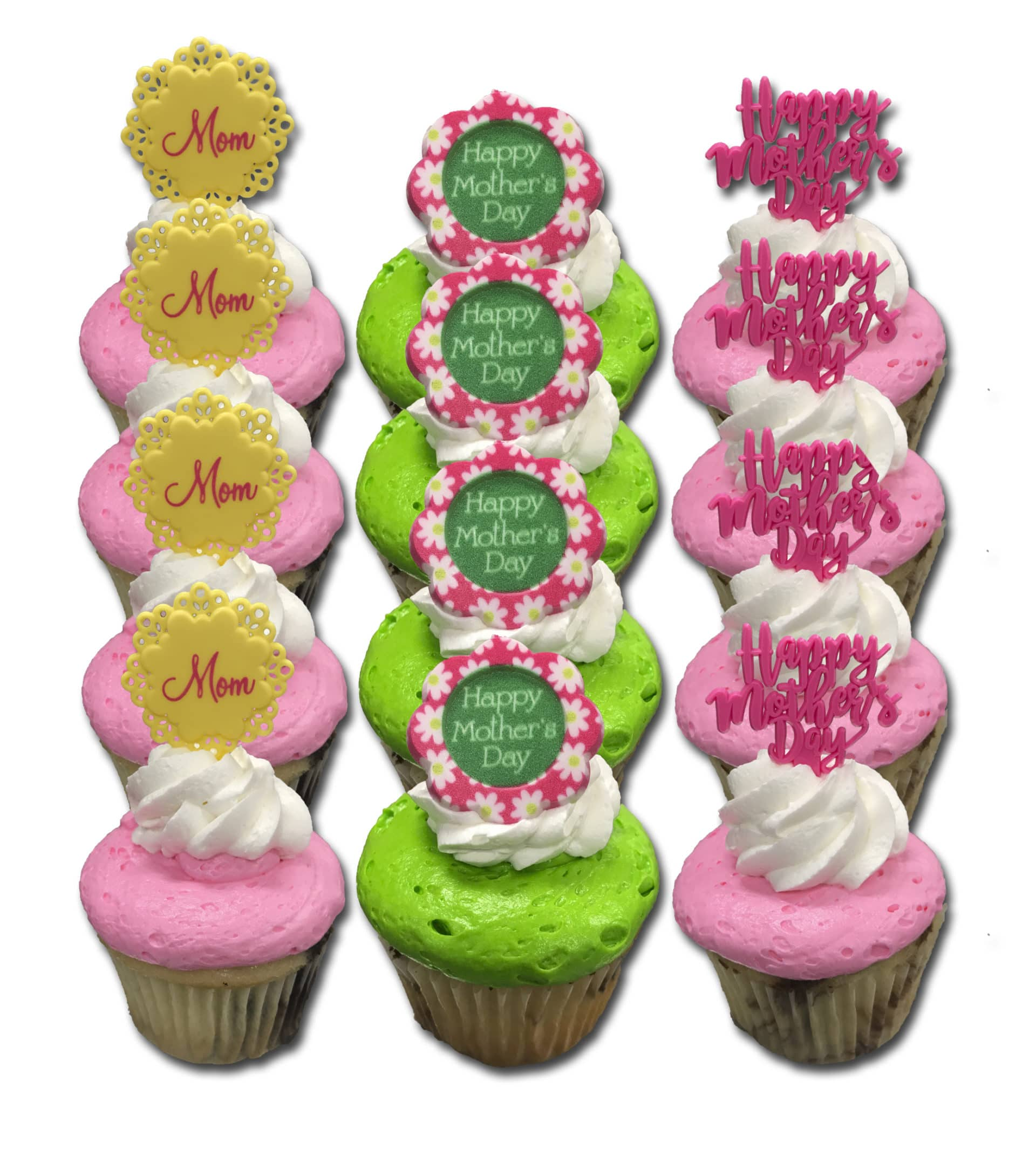 Mothers Day Cupcakes Standard 12 Pack