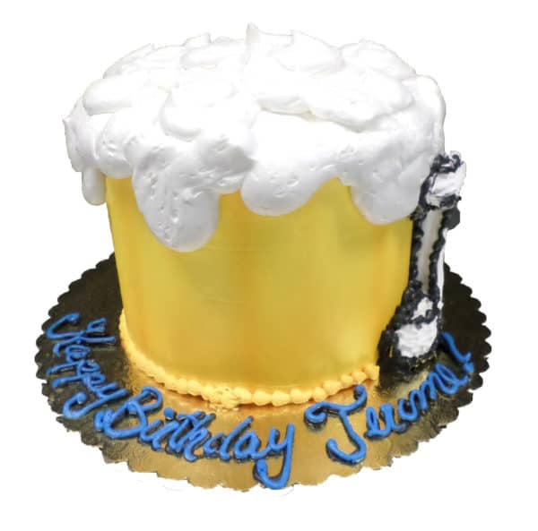 Excellent Birthday Cake 117 Beer Mug Aggies Bakery Cake Shop Personalised Birthday Cards Epsylily Jamesorg