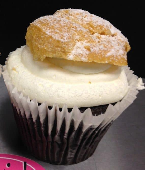 cream puff cupcakes