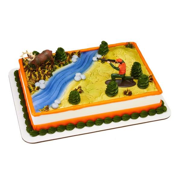 Marvelous Birthday Cake 107 Deer Hunting 8305 Aggies Bakery Cake Shop Birthday Cards Printable Inklcafe Filternl