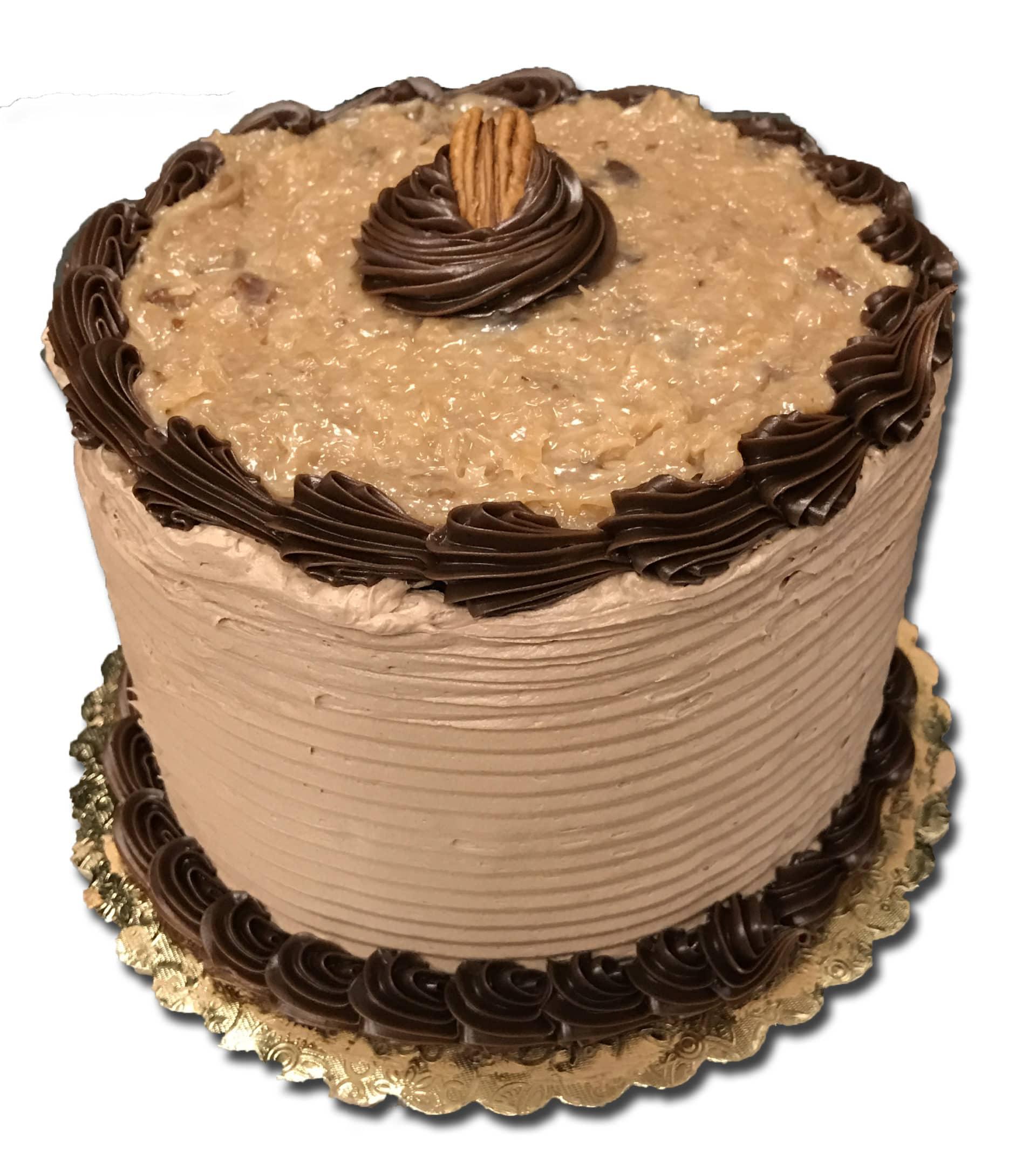 Terrific German Chocolate Dessert Cake 6 Aggies Bakery Cake Shop Funny Birthday Cards Online Aeocydamsfinfo