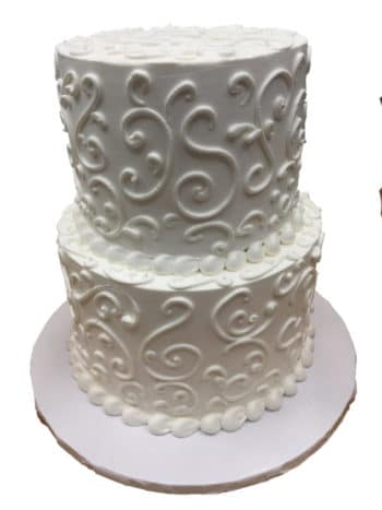 Two Tier Cake Lace