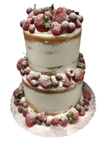 tiered fruit cake