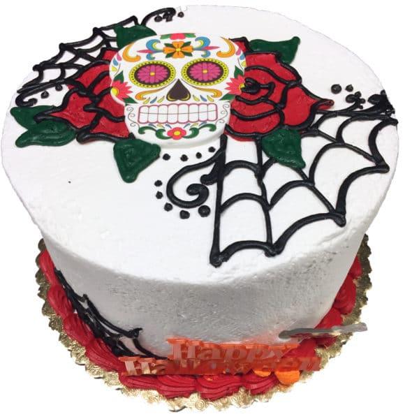 Swell Birthday Cake 128 Sugar Skull Aggies Bakery Cake Shop Funny Birthday Cards Online Eattedamsfinfo