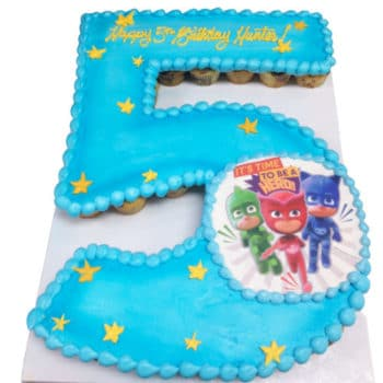 fifth birthday cake