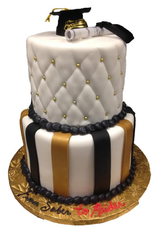 Remarkable Two Tier Cake 13 Aggies Bakery Cake Shop Personalised Birthday Cards Veneteletsinfo