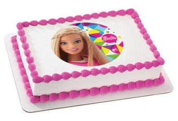 Kids And Character Cake Barbie Sparkle 49094