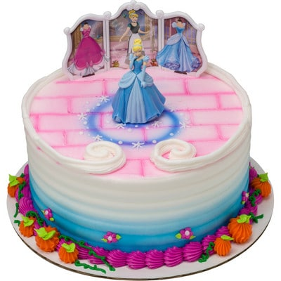 Excellent Kids And Character Cakes Cinderella Transforms Round 18699 Personalised Birthday Cards Petedlily Jamesorg