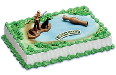 Terrific Birthday Cake Field Stream Duck Hunting 8299 Aggies Bakery Funny Birthday Cards Online Barepcheapnameinfo