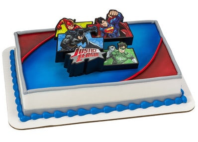 Kids And Character Cake Justice League For All 7493