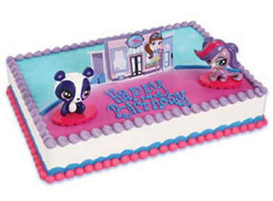 Kids And Character Cake Littlest Pet Shop Penny Ling Zoe 39854