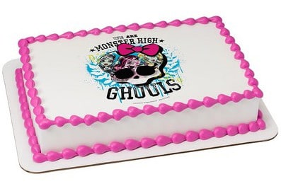 Kids And Character Cake Monster High Ghouls Rock 42559 Aggie S Bakery Cake Shop