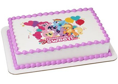 Cool Kids And Character Cake My Little Pony Friendship 58216 Funny Birthday Cards Online Ioscodamsfinfo