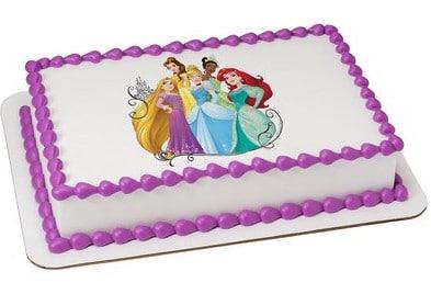 Enjoyable Kids And Character Cake Princess Dream Big Princess 49706 Funny Birthday Cards Online Elaedamsfinfo