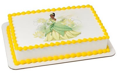 Kids And Character Cake Princess Tiana Sparkle Shine 7989