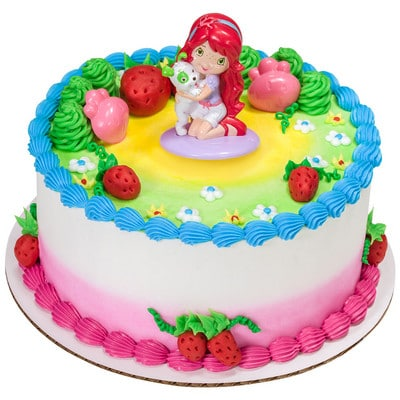 KCC Strawberry Shortcake Best Friends Round 17153 Home Cakes Kids Character