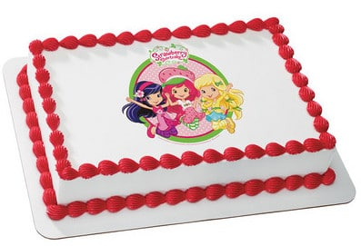 Peachy Kids And Character Cake Strawberry Shortcake Jump For Joy 49072 Funny Birthday Cards Online Alyptdamsfinfo