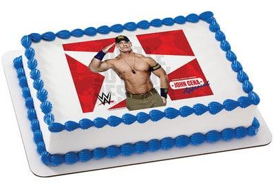 Kids And Character Cake Wwe John Cena 7176 Aggie S
