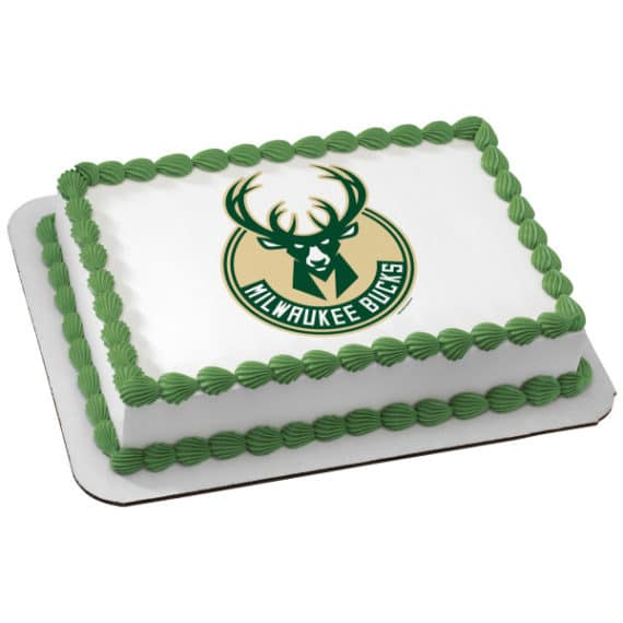 milwaukee bucks cake