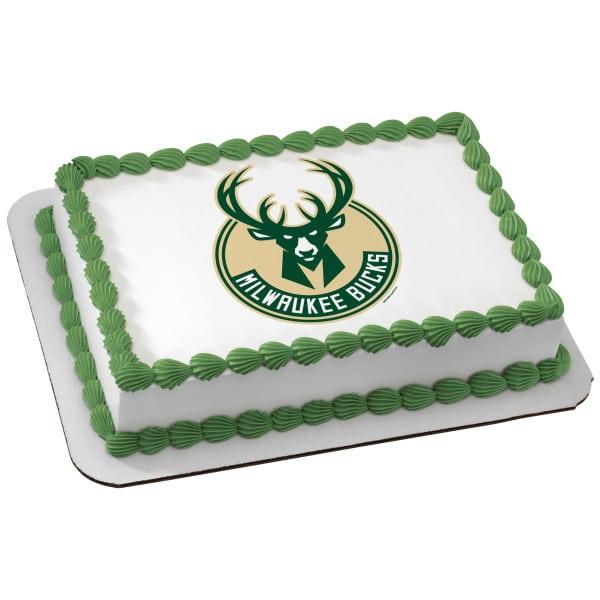 Birthday Cake 105 Milwaukee Bucks 6449 Aggies Bakery Cake Shop