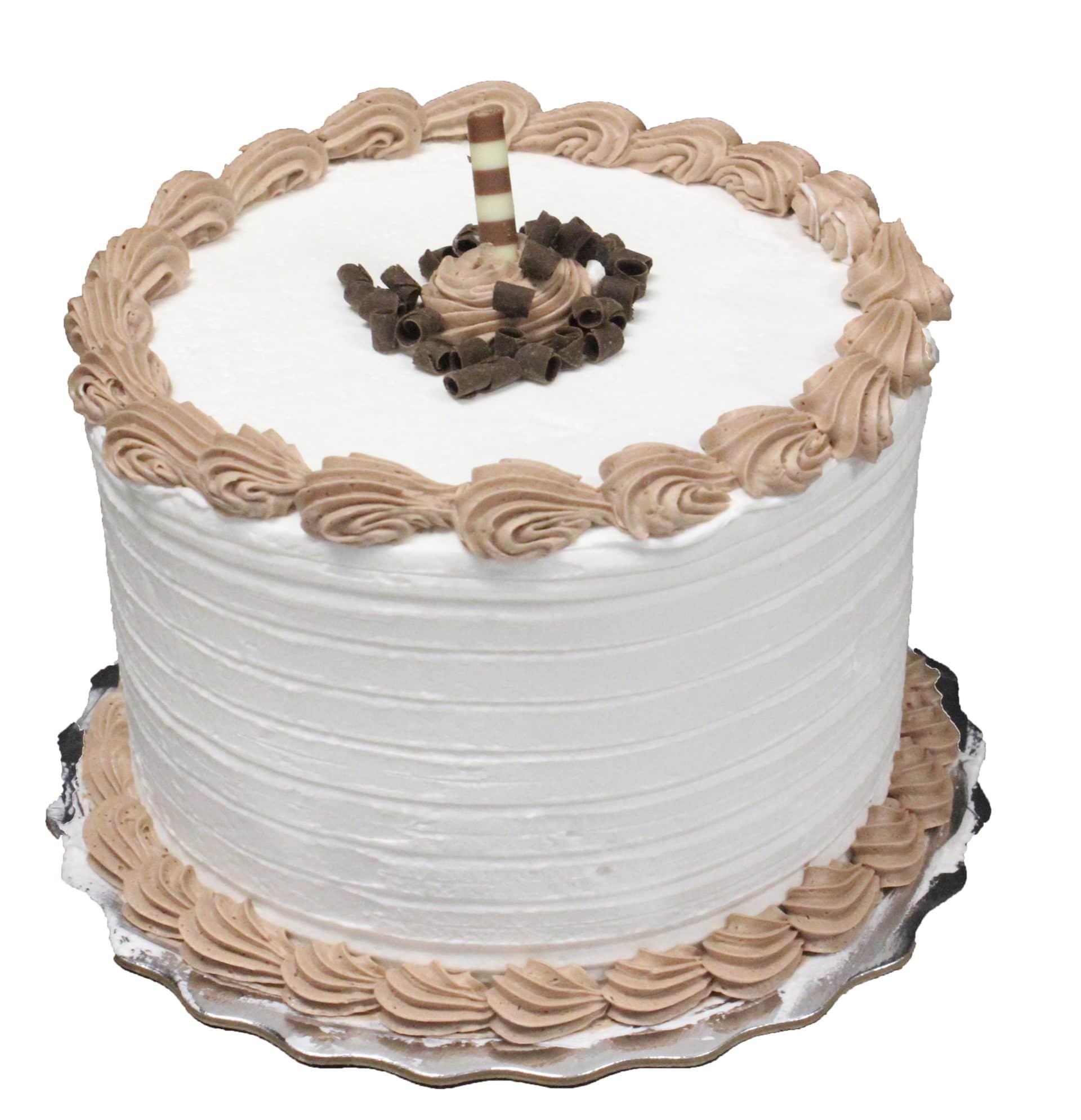 Marble French Cream Dessert Cake