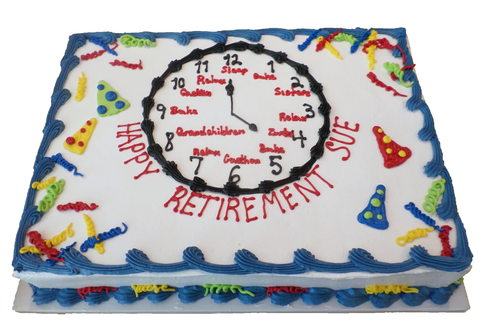Retirement Cake 3 Aggie S Bakery Cake Shop