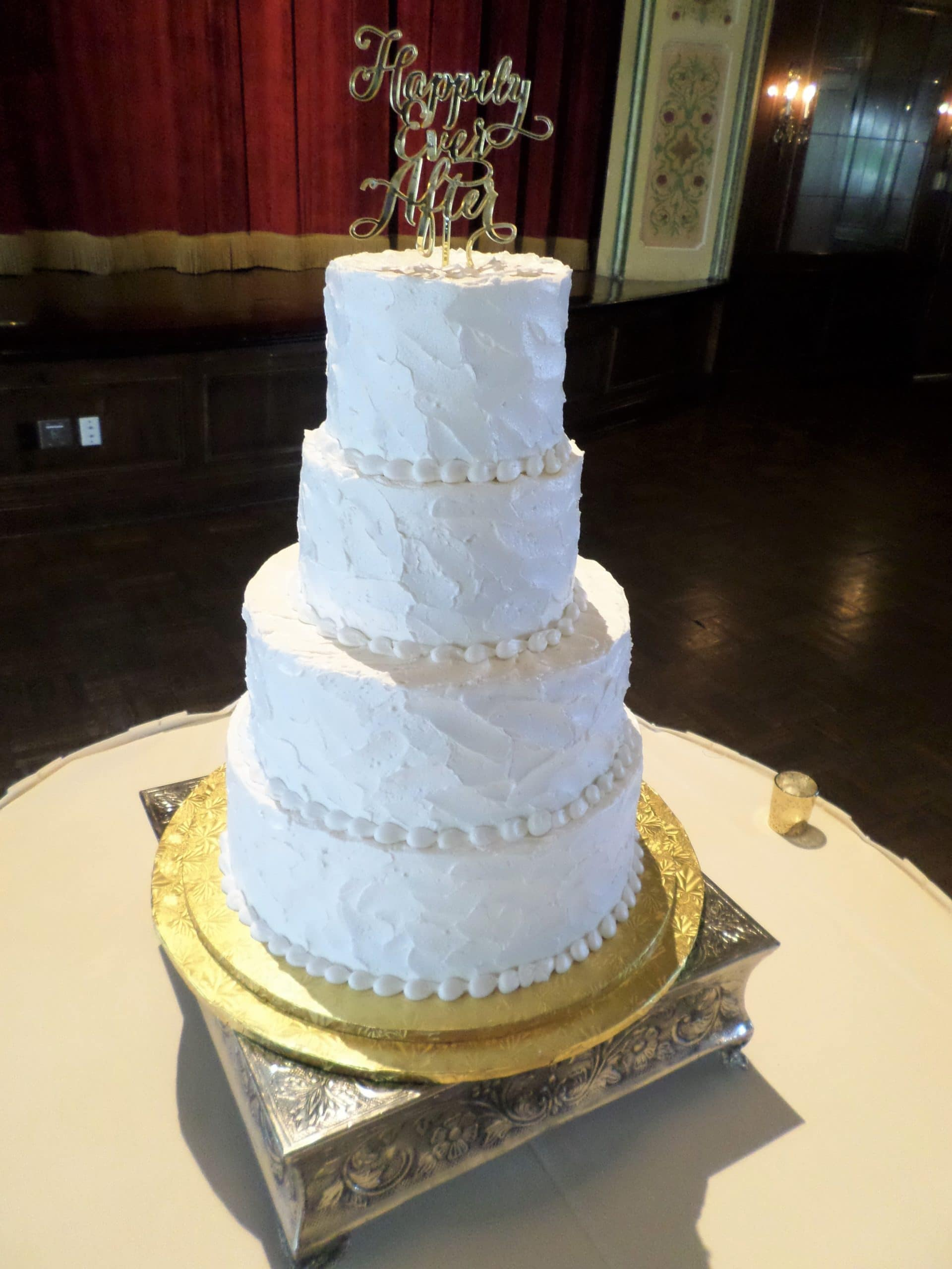 Sam Wedding Cake.Wedding Cake Simply Aggie S Stucco 2 Aggie S Bakery Cake Shop
