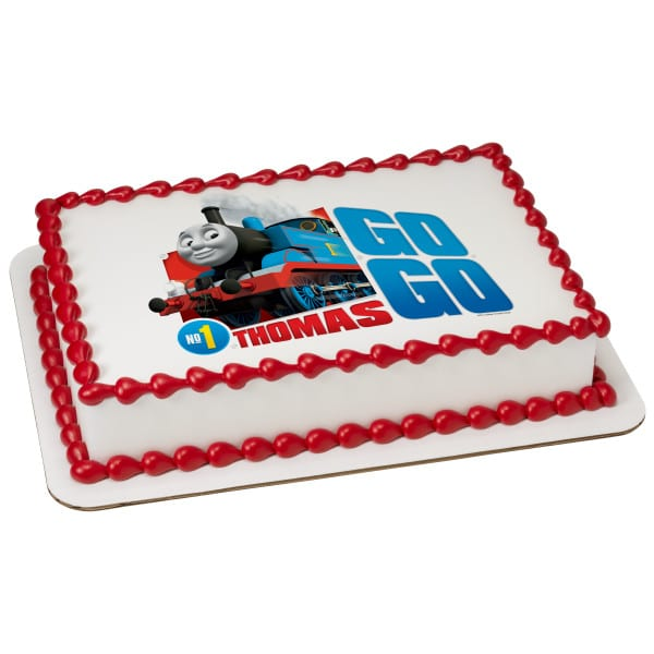 Magnificent Kids Character Cake Thomas Go Go Thomas 21752 Aggies Funny Birthday Cards Online Alyptdamsfinfo