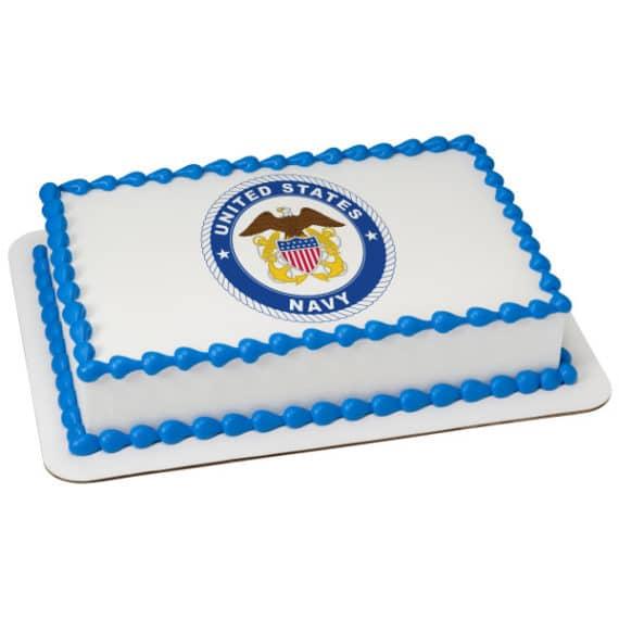 united states navy cake