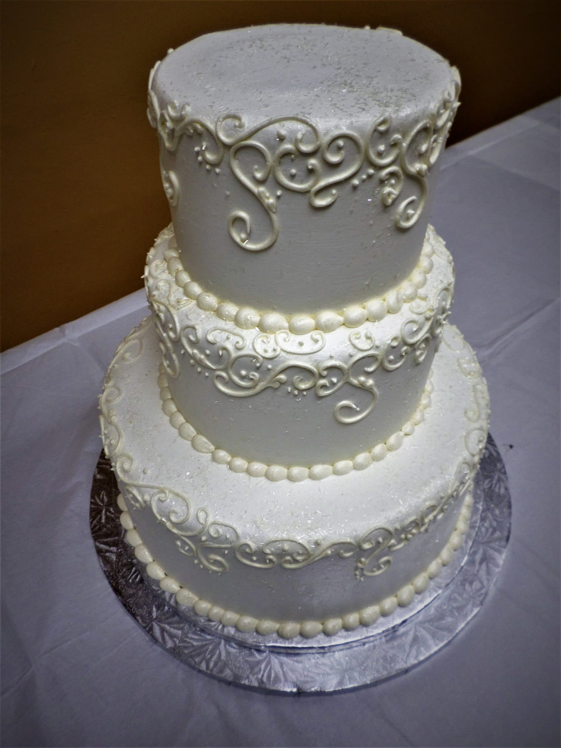 Wedding Cake Simply Aggie S Lace 1 Aggie S Bakery
