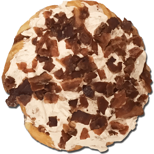 Bacon Maple Buttercream Danish