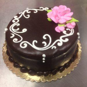cheesecake with raspberry ganache
