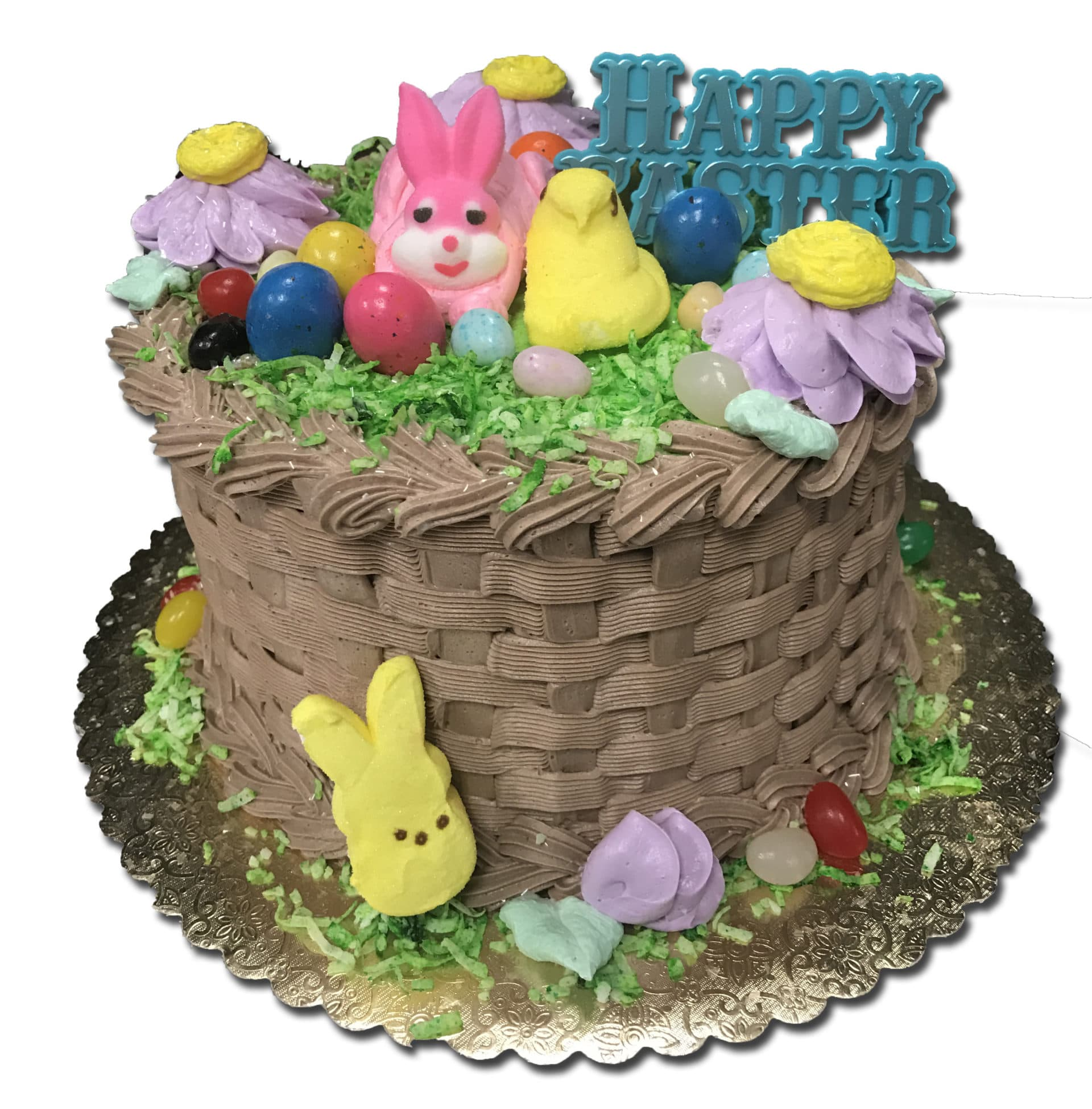 Astounding Easter Basket Cake 2 Aggies Bakery Cake Shop Funny Birthday Cards Online Fluifree Goldxyz