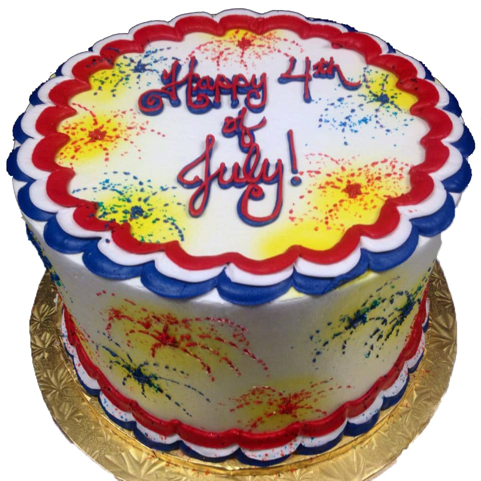 Fourth Of July Cake 1 Aggie S Bakery Cake Shop