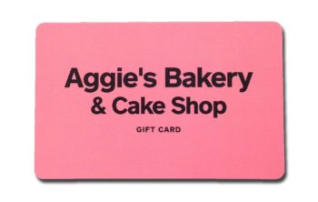 gift certificate aggie s bakery cake shop