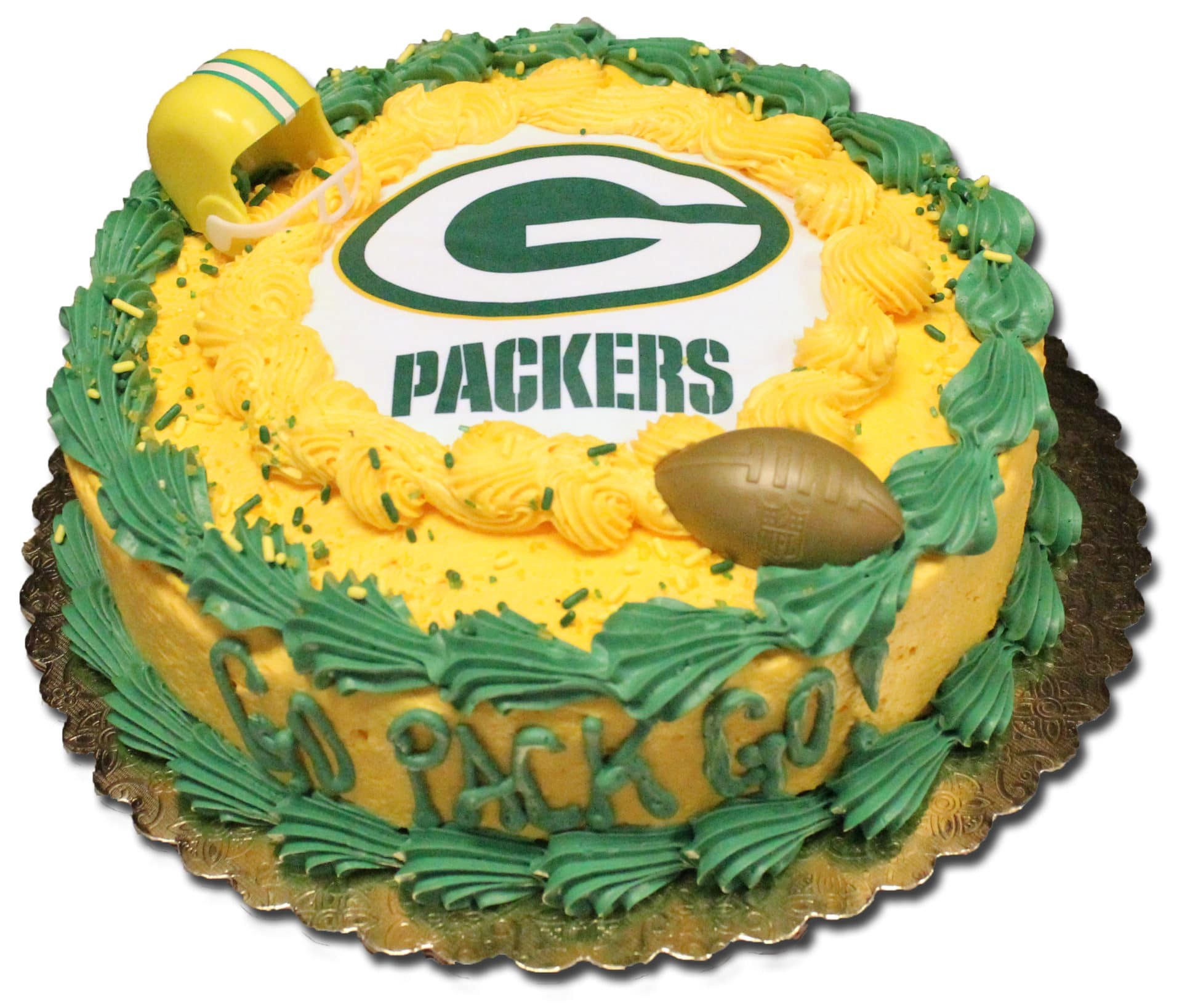 Packers Cake - Aggie\'s Bakery & Cake Shop