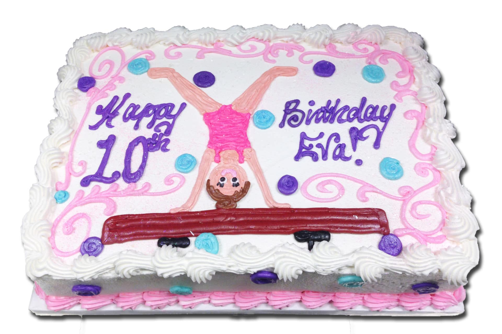 Marvelous Kids And Character 47 Gymnastics Fun Aggies Bakery Cake Shop Personalised Birthday Cards Paralily Jamesorg