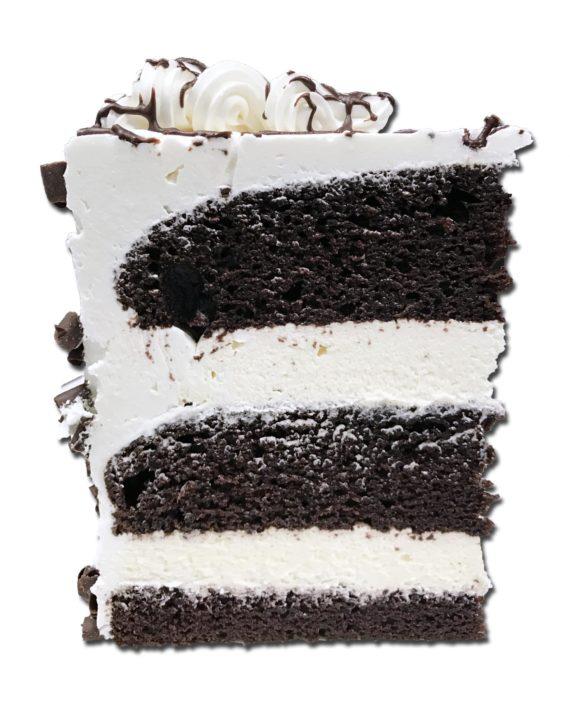 irish cream torte slice