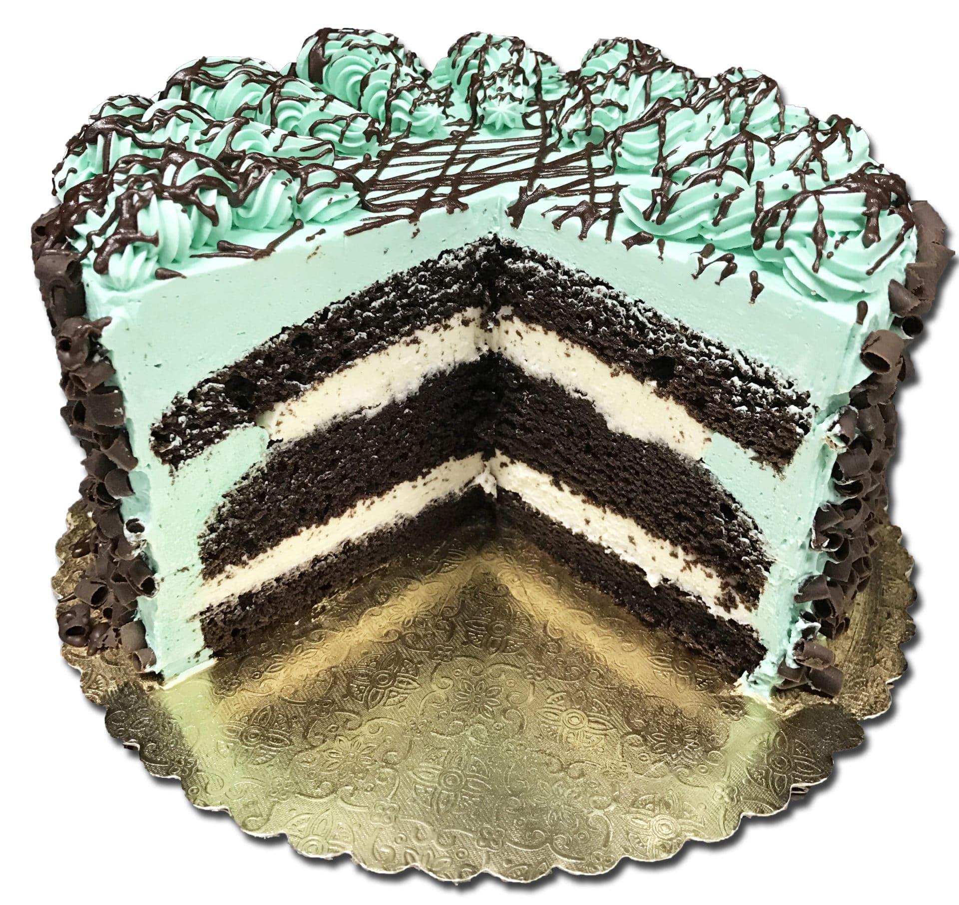 Aggies Chocolate Mint Torte