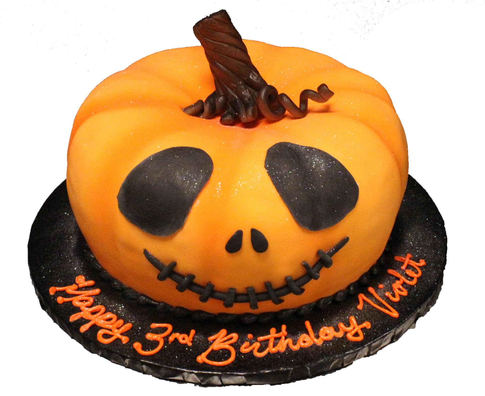 Pumpkin Halloween Cake 3d Aggie S Bakery Cake Shop