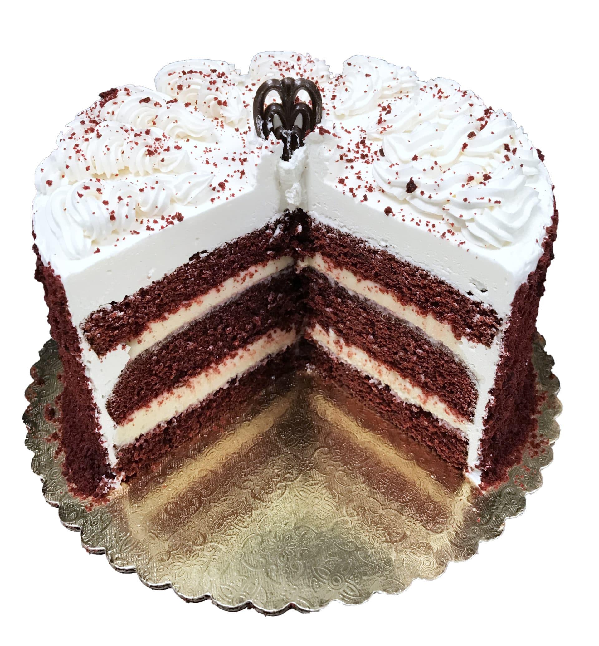 Red Velvet Torte Aggie S Bakery Amp Cake Shop