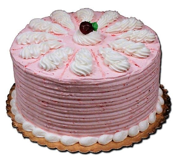 Aggies Strawberry French Cream Torte