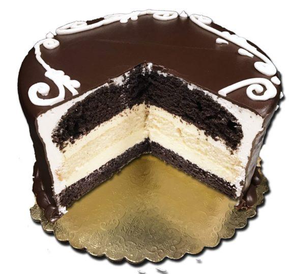 tuxedo torte slice out