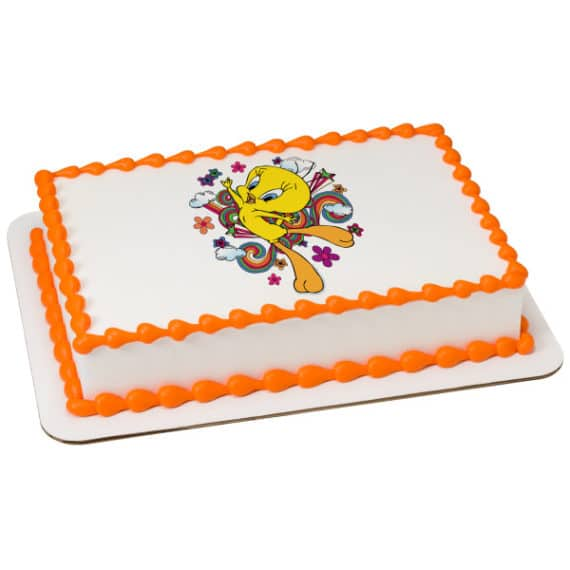 Admirable Kids And Character Cake Looney Tunes Tweety Bird 23581 Aggies Funny Birthday Cards Online Kookostrdamsfinfo