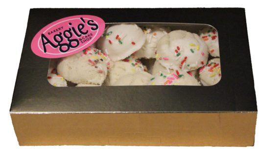 white chocolate dipped cookie box